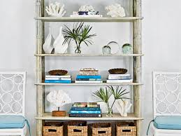 How To Decorate A Bookcase How To Decorate A Bookshelf Coastal Living