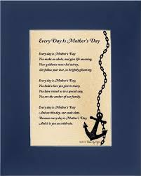 Love Anchors The Soul 8x10 - buy mothers day gift for mom every day is mothers day poem 8x10