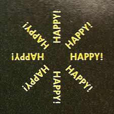 the happy happy happy test pressing