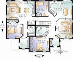 multi family house plans triplex multi family house plans triplex luxury multi family house plans