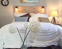 Headboards With Built In Lights Stylish Storage Solutions By Knotsandbiscuits On Etsy