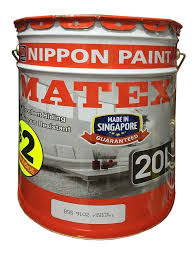 nippon paint matex emulsion white white bs9102 20l singapore