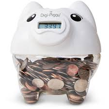 his and piggy bank digi piggy digital piggy bank