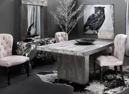 black and silver dining room set of worthy black and silver dining