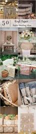 50 rustic country kraft paper wedding ideas deer pearl flowers
