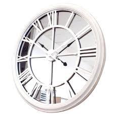 clocks mirror clocks oversized mirror clock mirror clock walmart