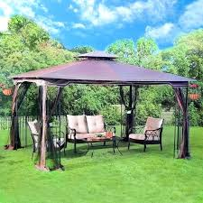12x12 Patio Gazebo Idea Outdoor Patio Gazebo And Outdoor Patio Brown Gazebo Canopy 19