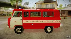 uaz 452 uaz 452 firefighter headquarters sa for gta san andreas