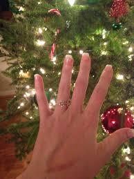 christmas proposal u2013 weee and ring pics weddingbee