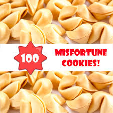 where to buy fortune cookies in bulk twisted fortune misfortune cookies bulk 100 box