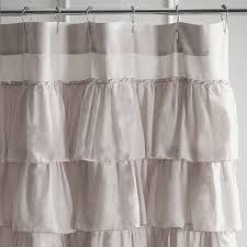 Frilly Shower Curtain Shower Curtains Home Outfitters Home Decorating Interior Design