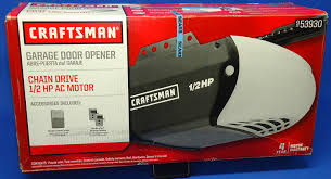 Craftsman Garage Door Openers Troubleshooting by Craftsman 53930 Cm Garage Opener 1 2 Hp Sears Garage Door