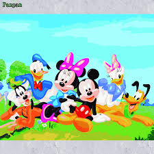 Livingroom Cartoon Compare Prices On Mickey Cartoon Pictures Online Shopping Buy Low