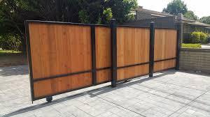 fence sliding fence gate dazzle u201a exceptional sliding fence gate