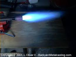 how to light a propane torch a simple homemade propane burner