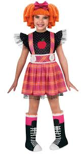 lalaloopsy costumes lalaloopsy bea spells a lot deluxe child costume