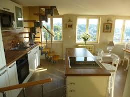 cuisine cagne moderne doux bijou haut de cagnes apartment roof terrace riviera breakaway