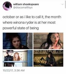 October 3 Meme - dopl3r com memes william shookspeare dracomallfoys october or