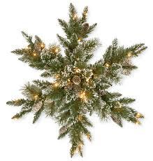 loon peak pine snowflake with 50 led lights reviews wayfair