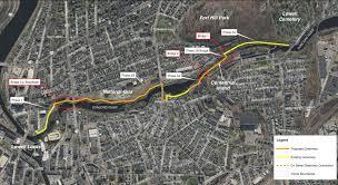 Eastern Massachusetts Map by Boston Area Rail Trails Including Eastern Massachusetts