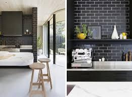 white tile kitchen backsplash backsplash black tile kitchen backsplash best black subway tiles