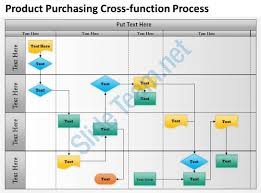 cross functional flowchart template powerpoint tomium info
