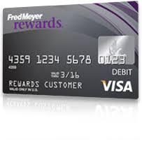 pre paid debit cards about the card fred meyer rewards visa prepaid debit card
