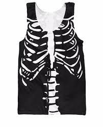 aliexpress com buy skeleton tank top halloween spirit skeletons