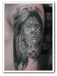 native american indian tattoo designs tribal warrior wild animals