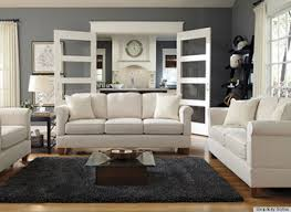 Apartment Sectional Sofas Interior Dryden Leather Apartment Sofa With Nailheads Interior