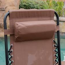 Lounge Chairs Patio by 2 Folding Zero Gravity Reclining Lounge Chairs Utility Tray