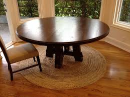 Round Kitchen Table by Diy Round Kitchen Table Gallery Including Elegant Brown Dining