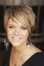 short hairstyle for woman fade haircut