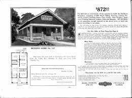 Arts And Crafts Bungalow House Plans by Sears Homes 1908 1914