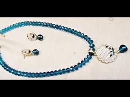jewelry fashion necklace images How to make fashion jewelry stone pendant set jpg
