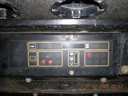 help with new holland lx865 warning lights lawnsite