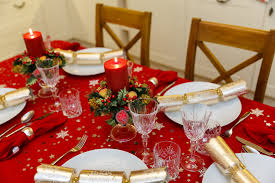 Dinner Table Christmas Dinner Table Free Stock Photo Public Domain Pictures