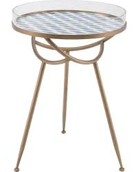 Acrylic Accent Table Winter Shopping S Deal On 18 Tribal Steel And