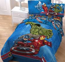 bedding winning 3pc marvel avengers twin bed sheet set comic book
