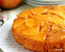 golden mango upside down cake u2013 honest cooking