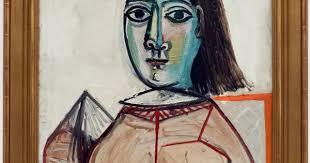 Dora Maar In An Armchair Pablo Picasso 1881 1973 La Femme Aux Yeux Noirs Dora Maar