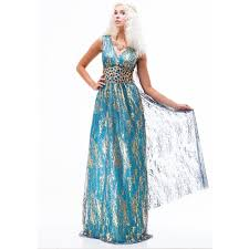 Game Thrones Halloween Costumes Daenerys Game Thrones Daenerys Targaryen Cosplay Costume Dress Halloween
