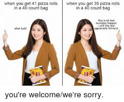 Pizza Rolls Meme - how long before advertisers try to monetize memes