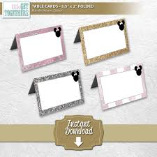 minnie mouse card table minnie mouse classy table tent folded cards diy printable