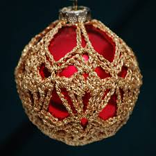 ravelry crocheted ornament covers 3 patterns
