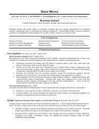 business analyst resume exles business analyst resume sle pdf data analyst resume sle