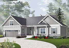 prairie style floor plans plan 21940dr airy craftsman style ranch ranch house plans