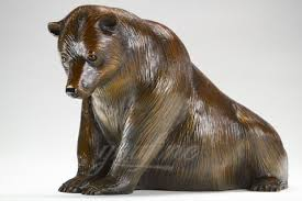 home sculptures large bear bronze animal statue sculpture for home decoration on