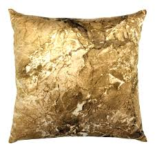 decor metallic foil gold throw pillows for home accessories ideas