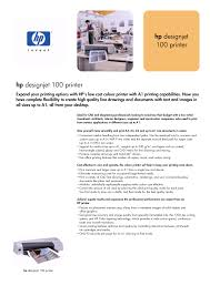 download free pdf for hp designjet 100 printer manual